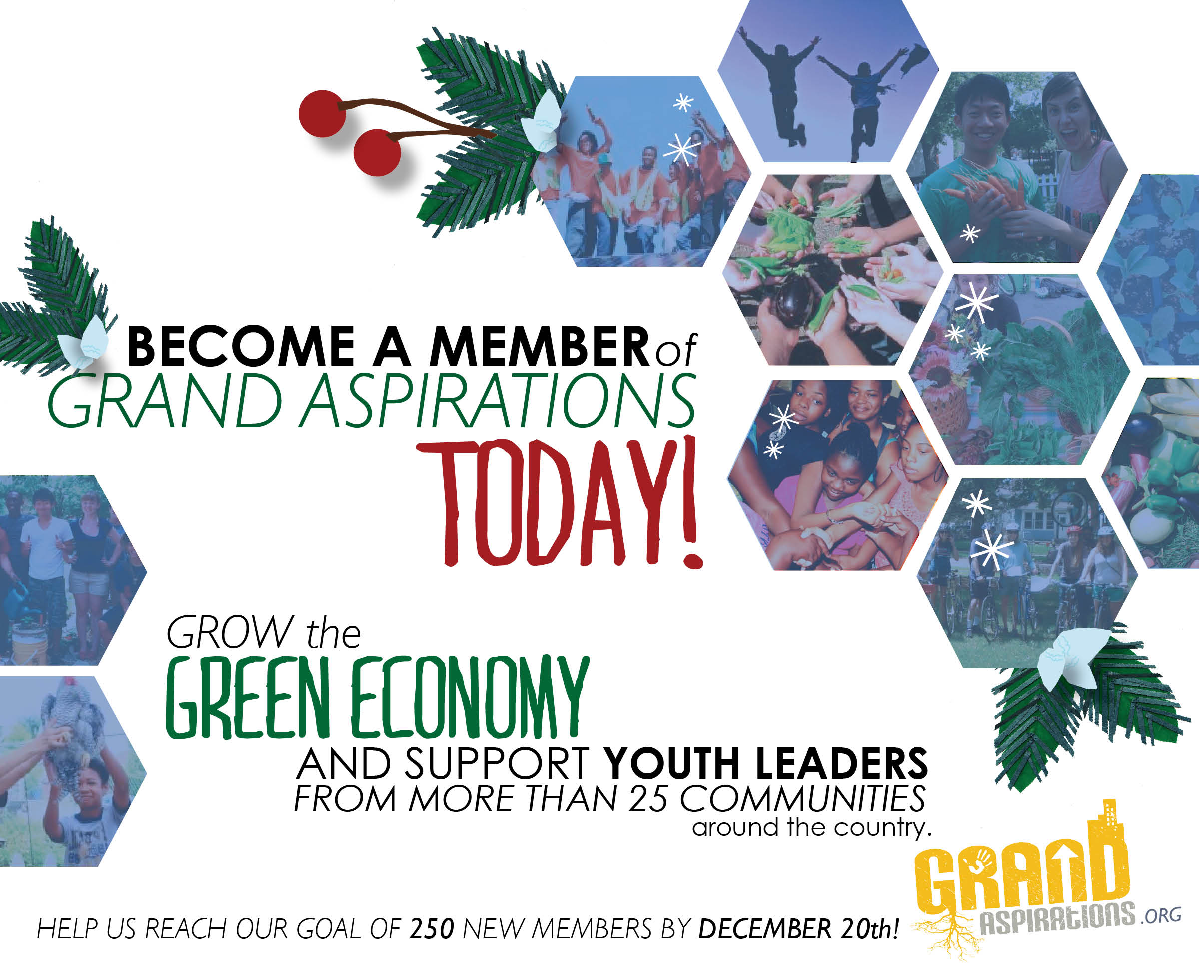 Become a member of Grand Aspirations today!